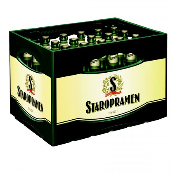 Staropramen 6er (24 x 0.33 Liter)