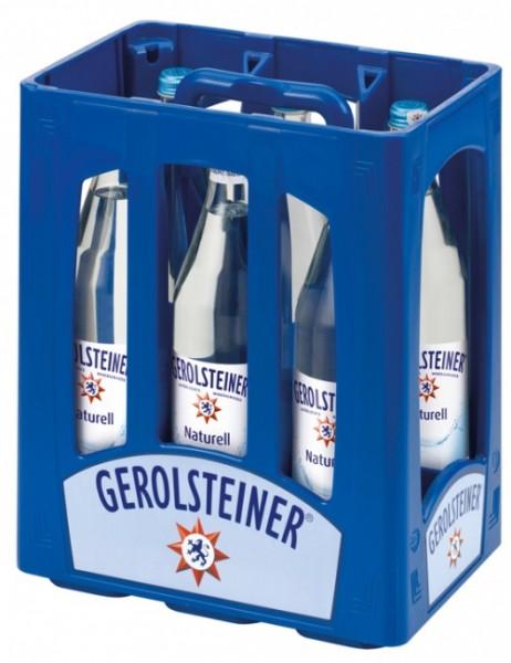 Gerolsteiner Naturell (6 x 1 Liter)