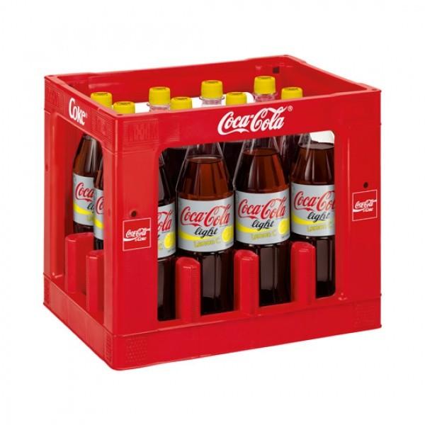 Coca Cola Light Lemon C PET (12 x 1 Liter)