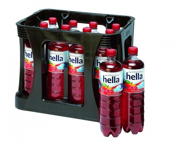 Hella Rote Schorle PET (12 x 1 Liter)