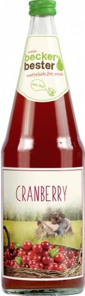 Beckers Bester Cranberry-Nektar (6 x 1 Liter)