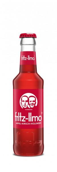 Fritz Apfel-Kirsch-Holunder-Limonade (24 x 0.2 Liter)
