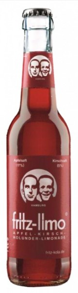 Fritz Apfel-Kirsch-Holunder Limonade (24 x 0.33 Liter)