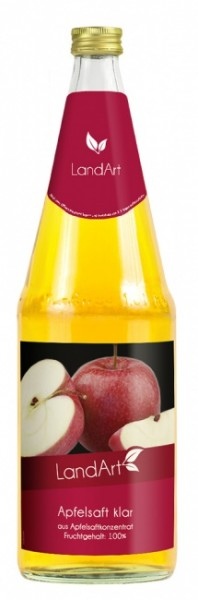 Landart Apfel klar (6 x 1 Liter)