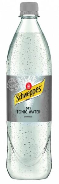 Schweppes Dry Tonic Water (6 x 1 Liter)
