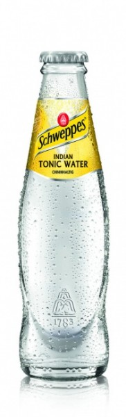 Schweppes Indian Tonic Water (24 x 0.2 Liter)