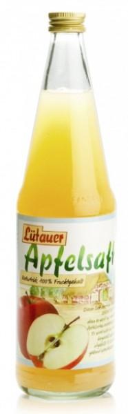 Lütauer Apfelsaft naturtrüb (12 x 0.7 Liter)