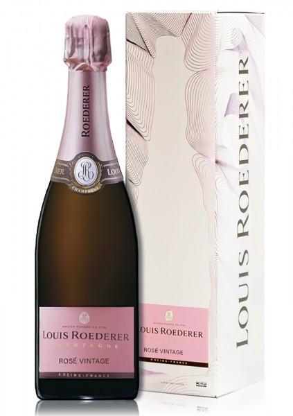 Roederer Champagner Brut Rosé Vintage 2014 in GP