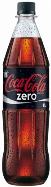 Coca Cola Zero PET (12 x 1 Liter)