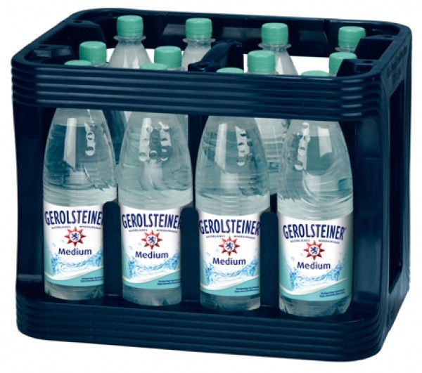 Gerolsteiner medium PET (12 x 1 Liter)
