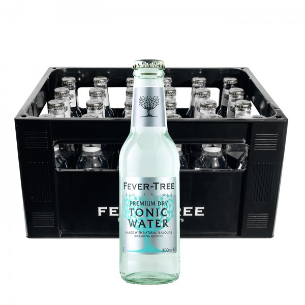 Fever Tree Dry Tonic Water (24 x 0.2 Liter)