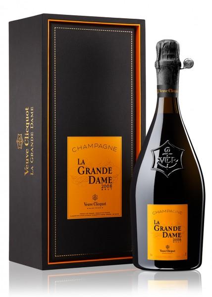 "Veuve Clicquot ""La Grande Dame"" Brut 2008 im Karton"