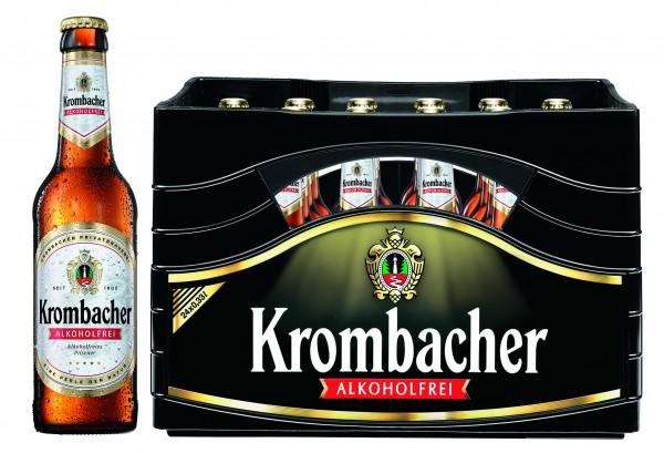 Krombacher Pils alkoholfrei (24 x 0,33 Liter)