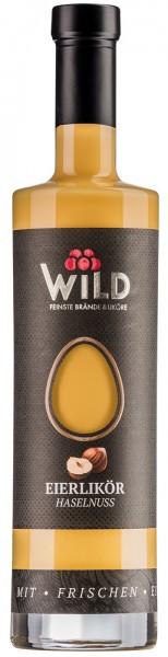 Wild Haselnuss-Eier Likör