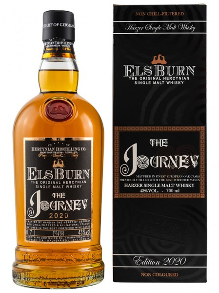Elsburn The Journey Harzer Single Malt Whisky 2020