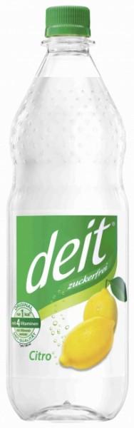 "Deit Citro ""klar"" PET (12 x 1 Liter)"
