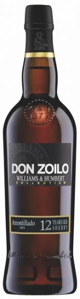 "Williams & Humbert ""Don Zoilo"" Sherry Amontillado 12 Years"