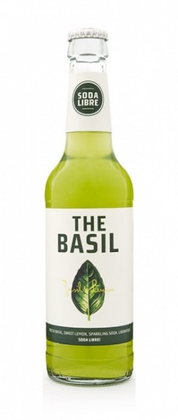 The Basil - Soda Libre (24 x 0.33 Liter)