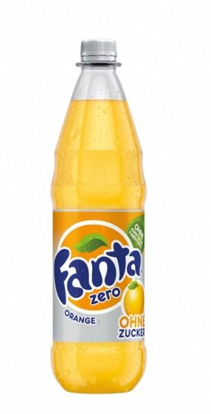 Fanta Zero PET (12 x 1 Liter)