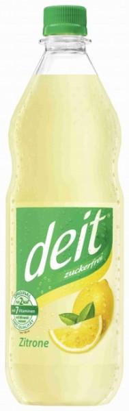 "Deit Zitrone ""trüb"" PET (12 x 1 Liter)"