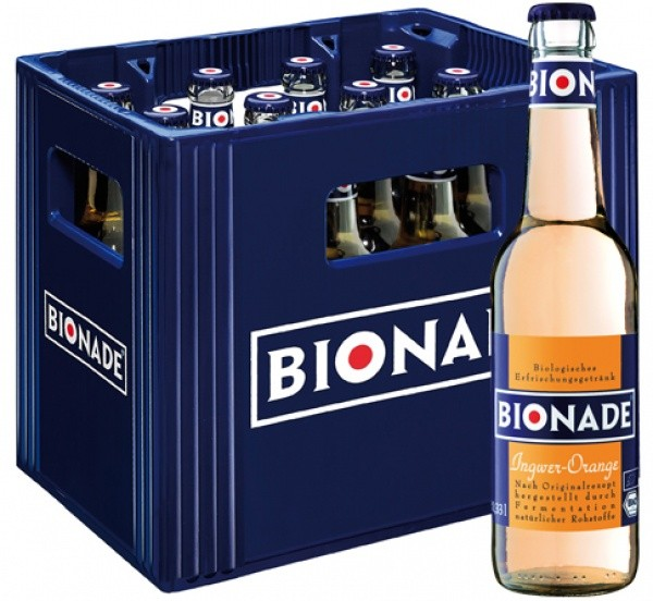Bionade Ingwer-Orange (12 x 0.33 Liter)