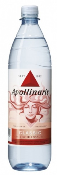 Apollinaris classic PET (10 x 1 Liter)