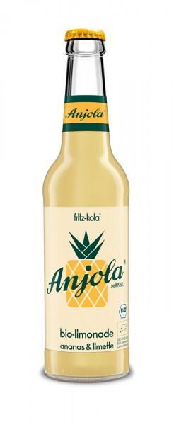 Anjola-Ananas-Limetten-Limonade (24 x 0.33 Liter)