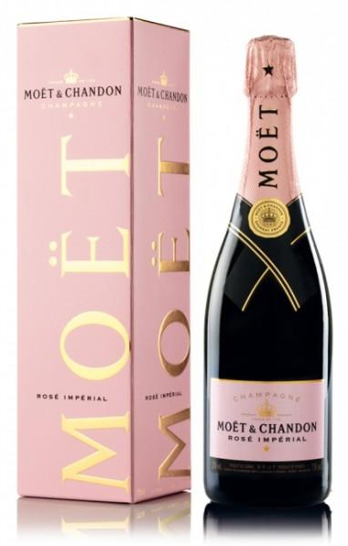 Moët & Chandon Champagner Rosé Imperial- Aktion + 2 Gläser