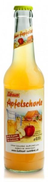 Lütauer Apfelschorle trüb (24 x 0.33 Liter)