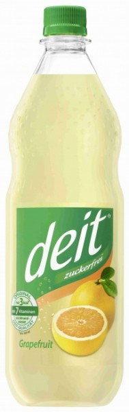 Deit Grapefruit PET (12 x 1 Liter)