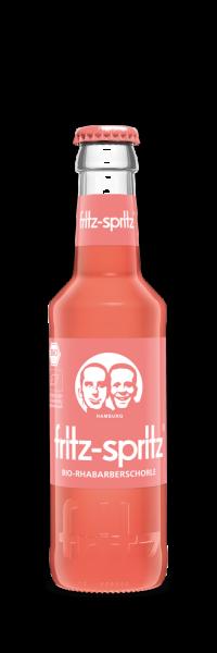 Fritz-Spritz Rhabarbersaftschorle (24 x 0.2 Liter)