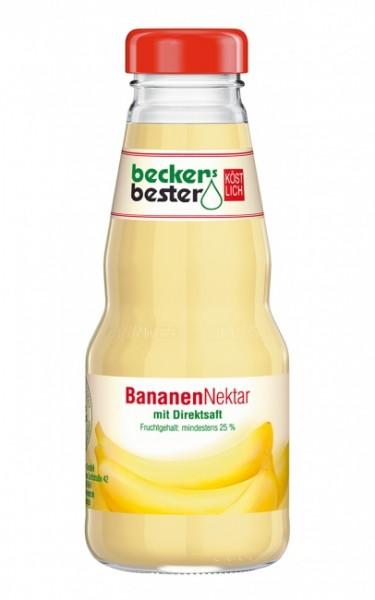 Beckers Bester Bananen-Nektar (12 x 0.2 Liter)