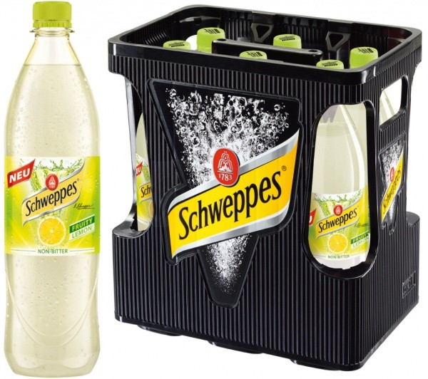 Schweppes Fruity Lemon PET (6 x 1 Liter)