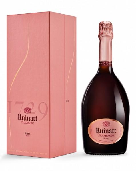 Ruinart Rosé Brut Champagner mit Geschenkkarton