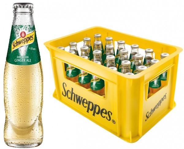 Schweppes Ginger Ale (24 x 0.2 Liter)