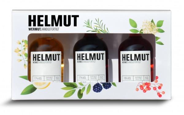 Helmut Wermut 3er Miniatur Set