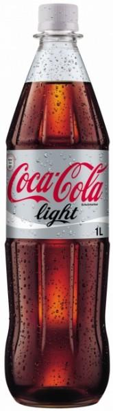 Coca Cola Light PET (12 x 1 Liter)