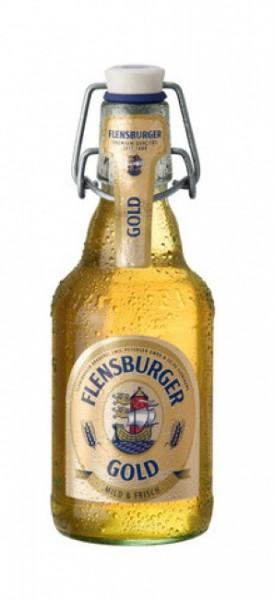 Flensburger Pilsener Gold Bügel (20 x 0.33 Liter)