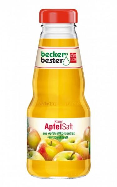 Beckers Bester Apfelsaft klar (12 x 0.2 Liter)