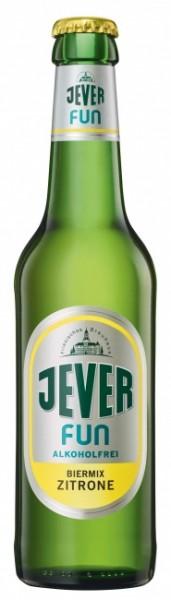 Jever Fun alkoholfrei Biermix Zitrone (24 x 0.33 Liter)