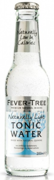 Fever Tree Naturally Light Tonic Water (24 x 0.2 Liter)