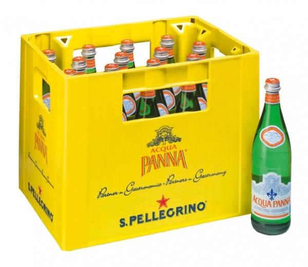 San Pellegrino Acqua Panna still (16 x 0.75 Liter)