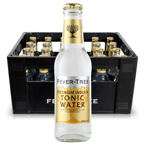 Fever Tree Indian Tonic Water (24 x 0.2 Liter)