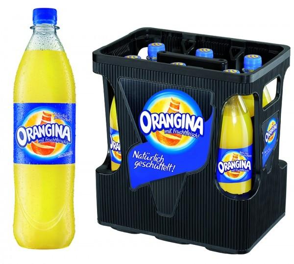 Orangina Classic PET (6 x 1 Liter)