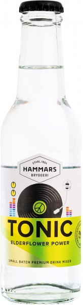 Hammars Tonic Water Elderflower Power (18 x 0,2 l)
