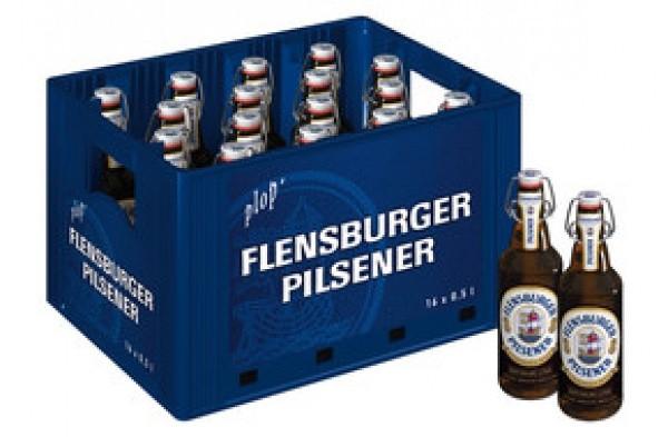 Flensburger Pils Bügel (16 x 0.5 Liter)
