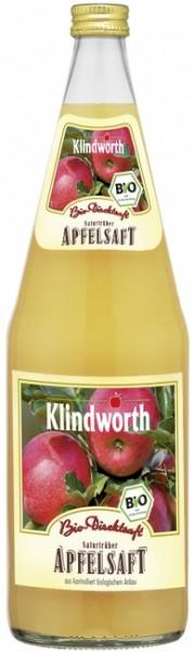 Klindworth Apfelsaft naturtrüb (6 x 1 Liter)
