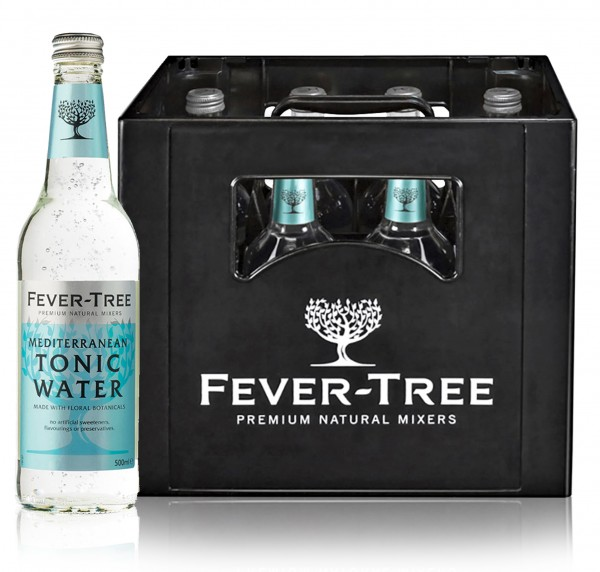 Fever Tree Mediterranean Tonic (8 x 0.5l)