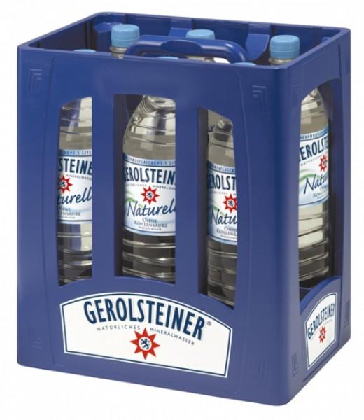 Gerolsteiner Naturell PET (6 x 1.5 Liter)