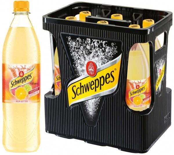 Schweppes Fruity Citrus PET (6 x 1 Liter)